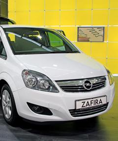 Opel Zafira Usado